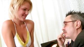 Big tittied kinky slut is getting her juicy stuffed in the hole