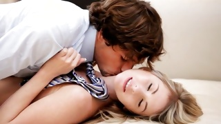 Magnificent teen porn where are kissing so perfect