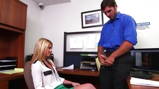 There is going to happen the dirty teen porn office fucking