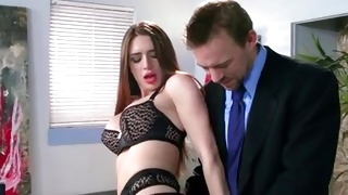 Really sexy bitch is about to get hammered from behind