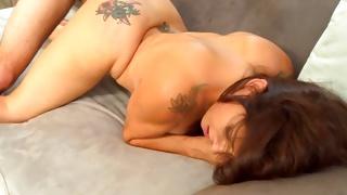 Marvelous sweetie looks kinky on depraved porn