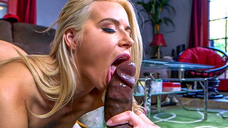AVN winner Anikka Albrite takes on a massive dong